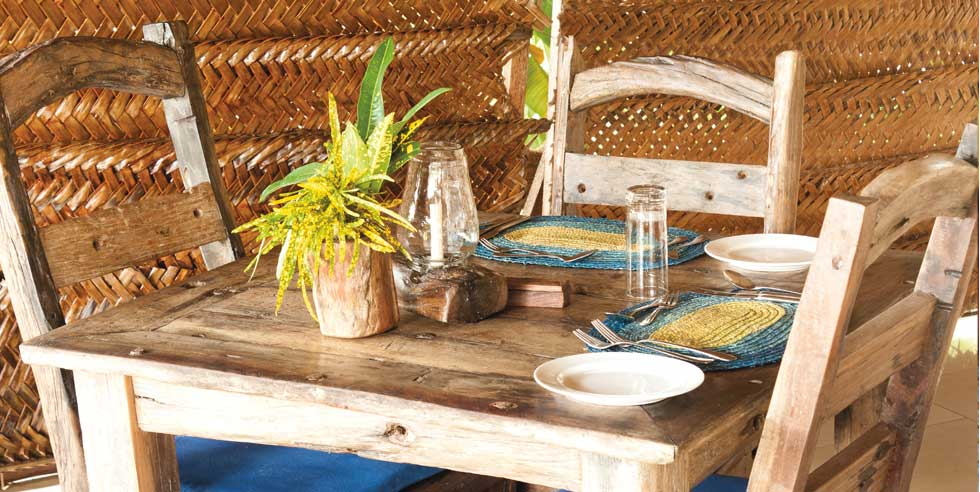 Dhow Table and Chairs